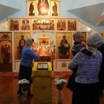 Литургия в Вознесенском храме